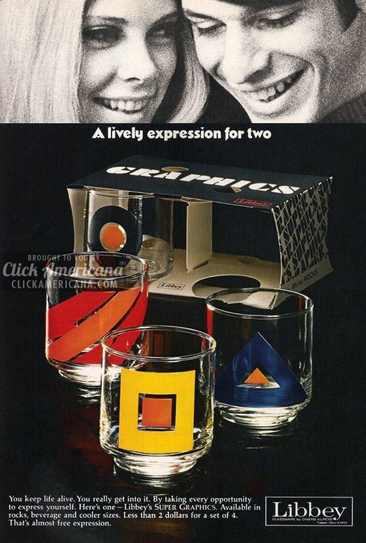 Vintage Libbey Prado wine glasses