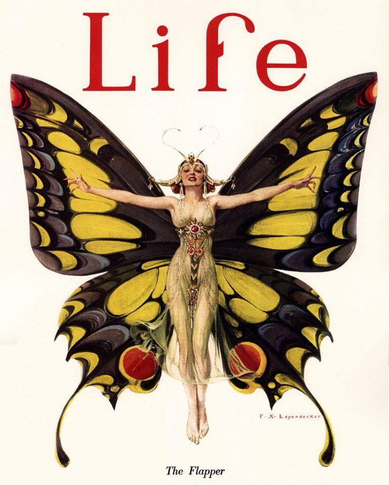 Life magazine - The Flapper
