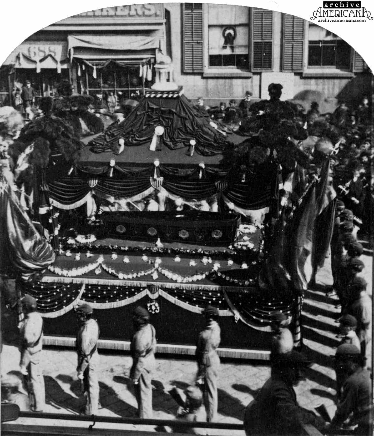 President Lincoln S Funeral 1865 Click Americana