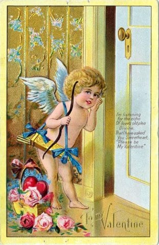 Vintage & antique Valentine's Day postcards