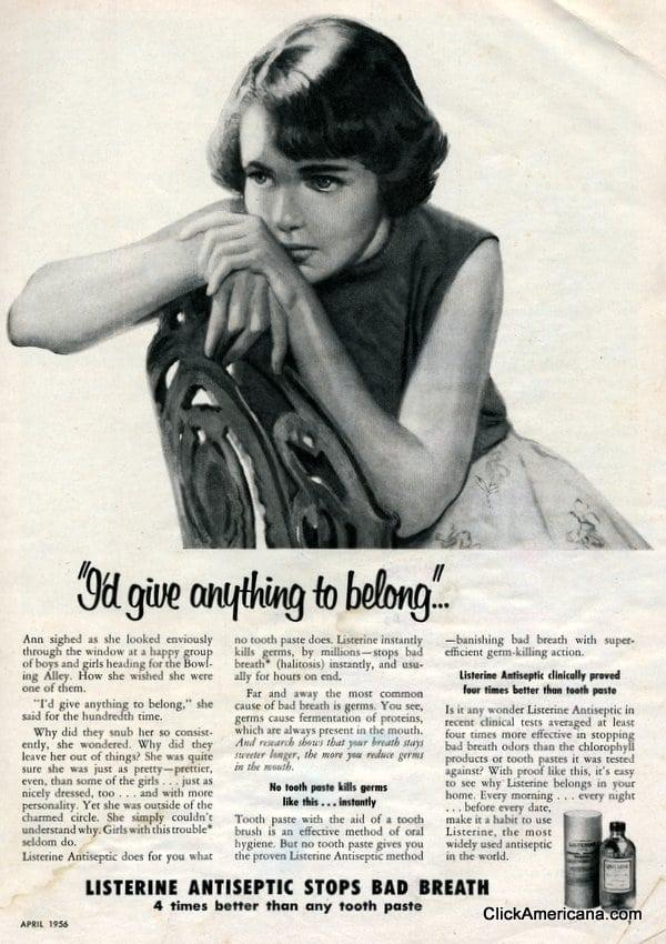 Bad breath making you a pariah? (1956)