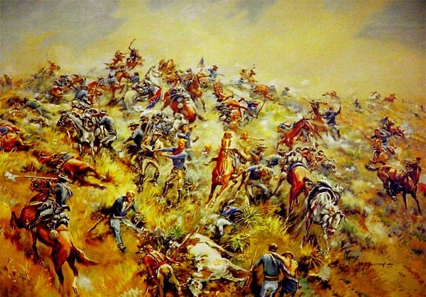The field of glory: Custer's last stand (1876)