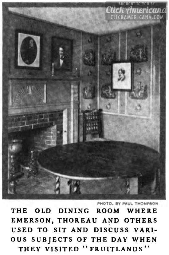 Louisa May Alcott home
