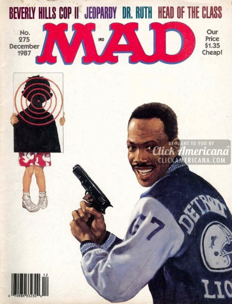 MAD December 1987: Beverly Hills Cop II