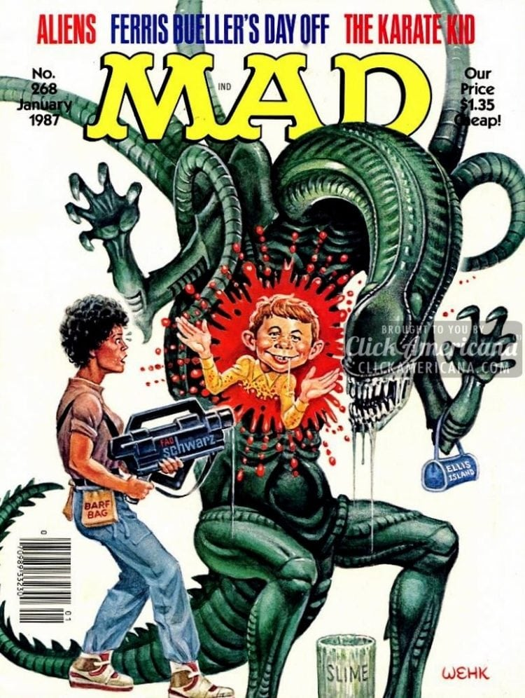 MAD January 1987: Aliens