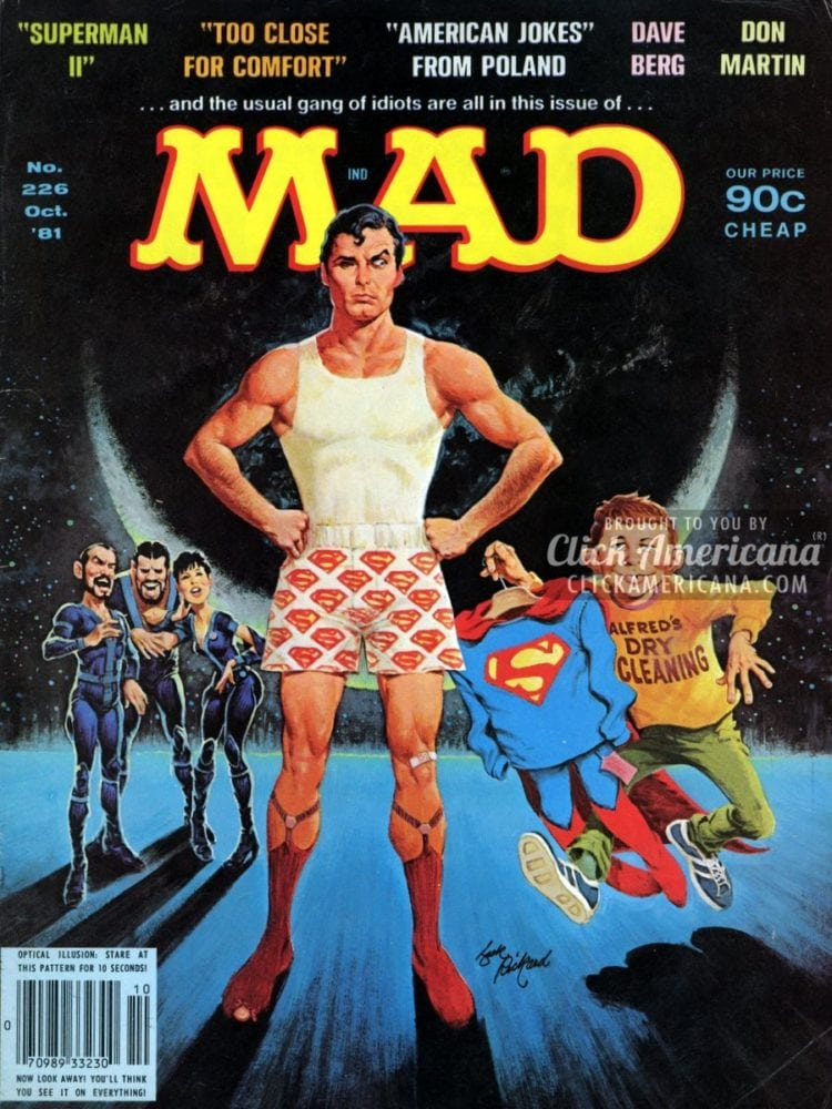MAD #226, October 1981: Superman II