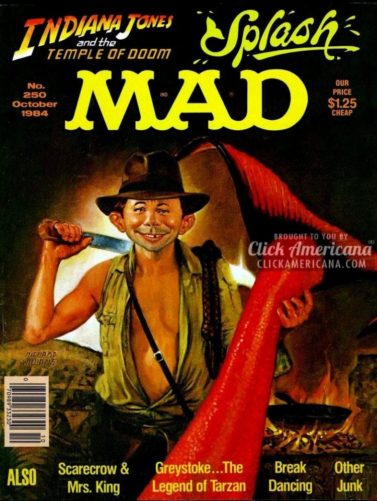 MAD October 1984: Indiana Jones & the Temple of Doom
