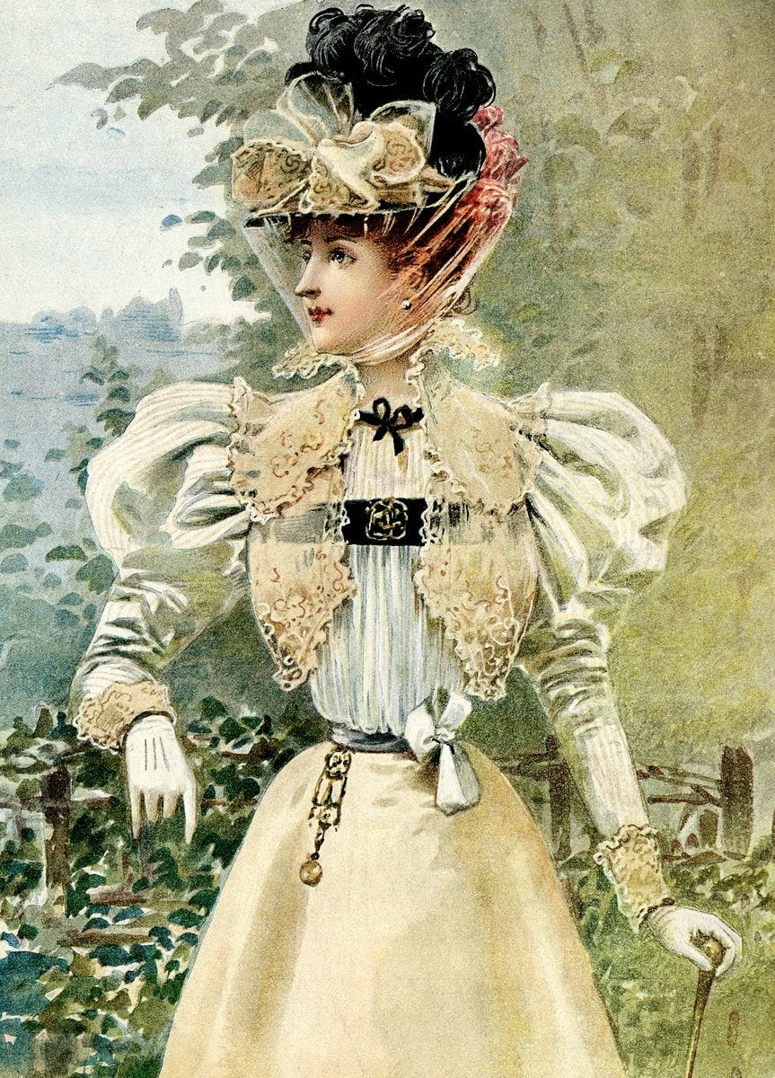 Corset from 1890
