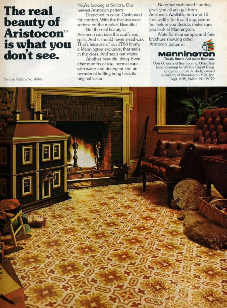 Mannington floors from 1975