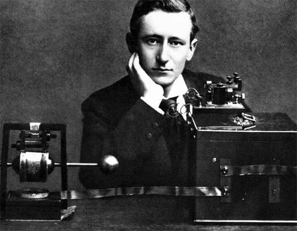 Wireless makes Marconi rich (1897)