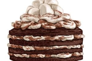 marshmallow fudge cake recipes