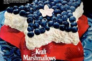marshmallow-stars-stripes-dessert-recipe-aug-1972