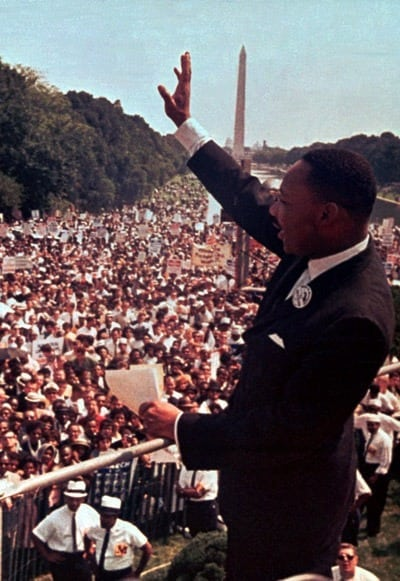 Martin Luther King Jr's 'I have a dream' speech (1963)