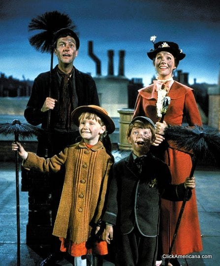 Mary Poppins hits the silver screen (1965)