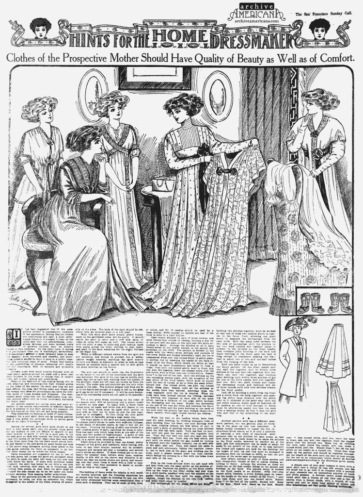 Tips for choosing maternity wear (1909)