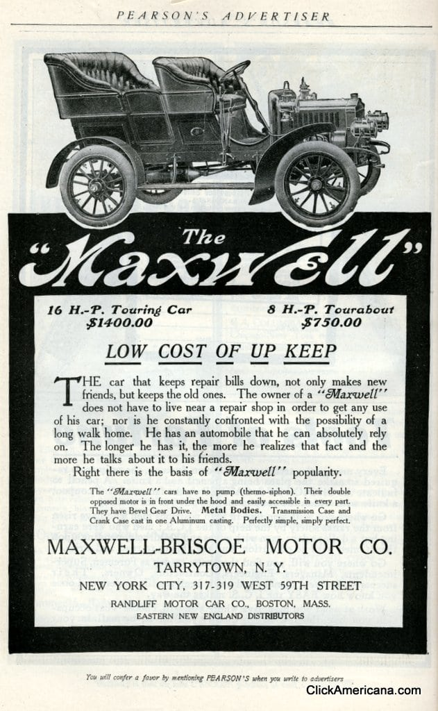 The Maxwell automobile (1905)