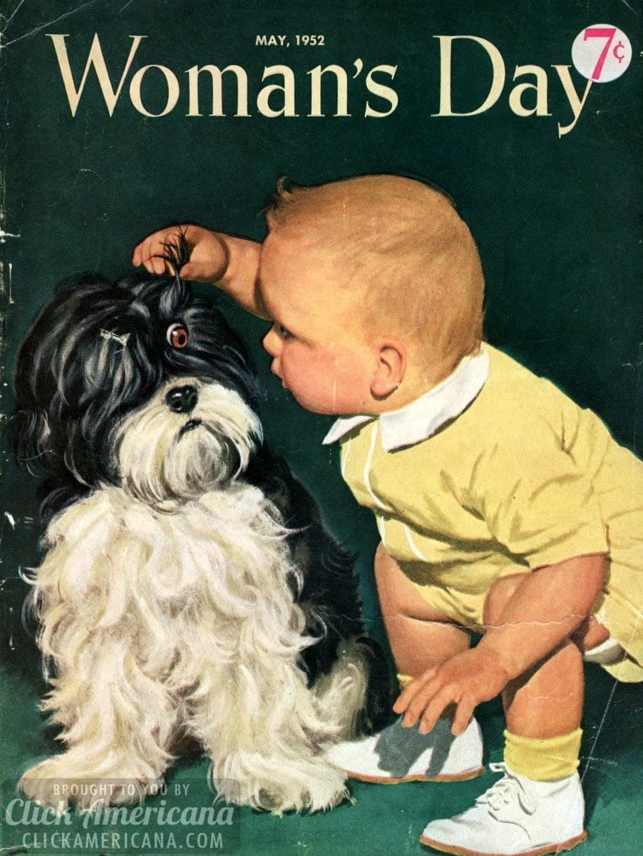 Woman's Day magazine cover: May 1952