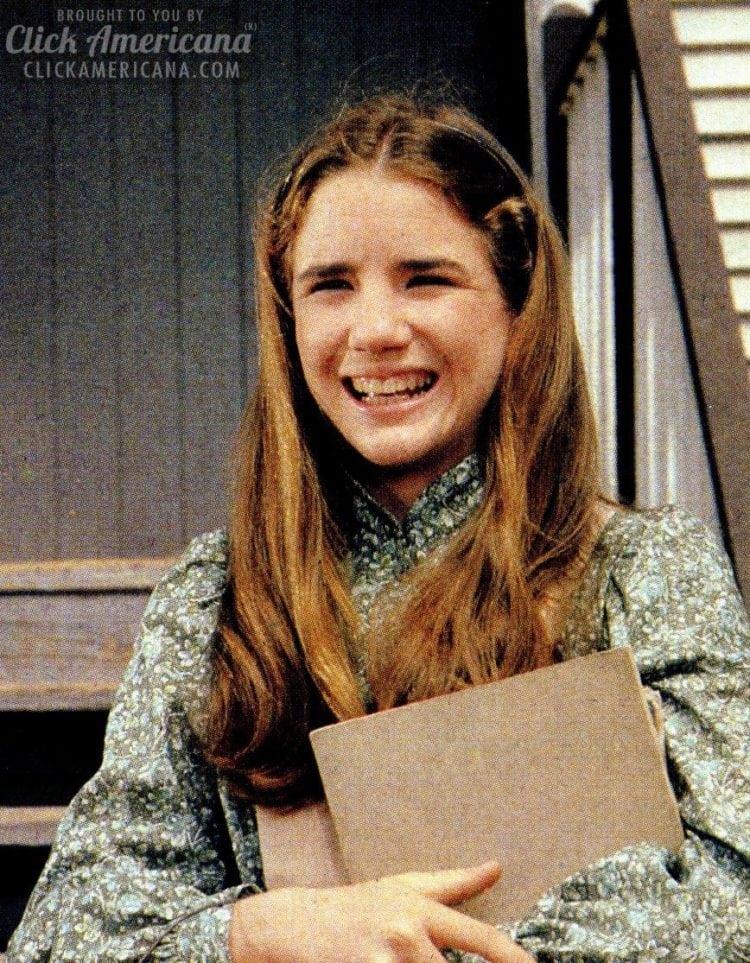 Melissa Gilbert as Laura Ingalls Wilder in Little House on the Prairie - LHOP