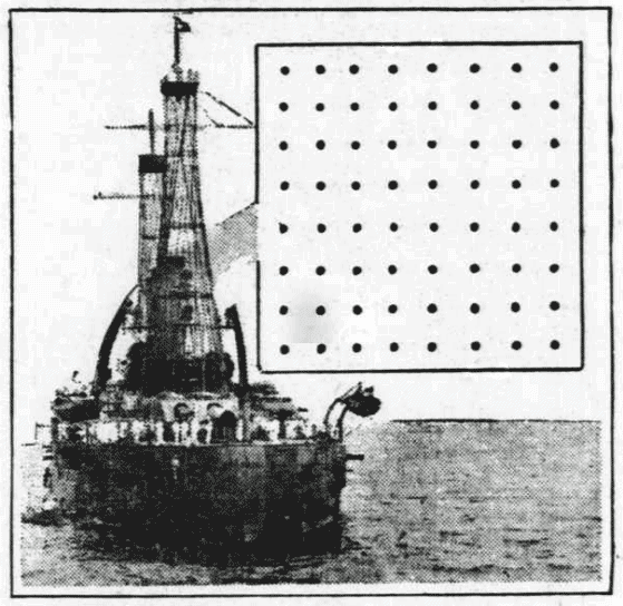 Puzzle: How did fleet avoid mine field? (1916)