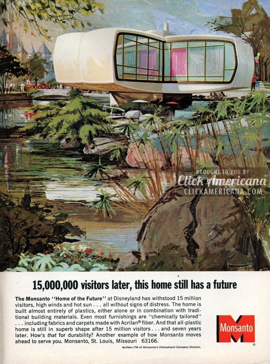 "Monsanto ""Home of the Future"" at Disneyland (1965)"