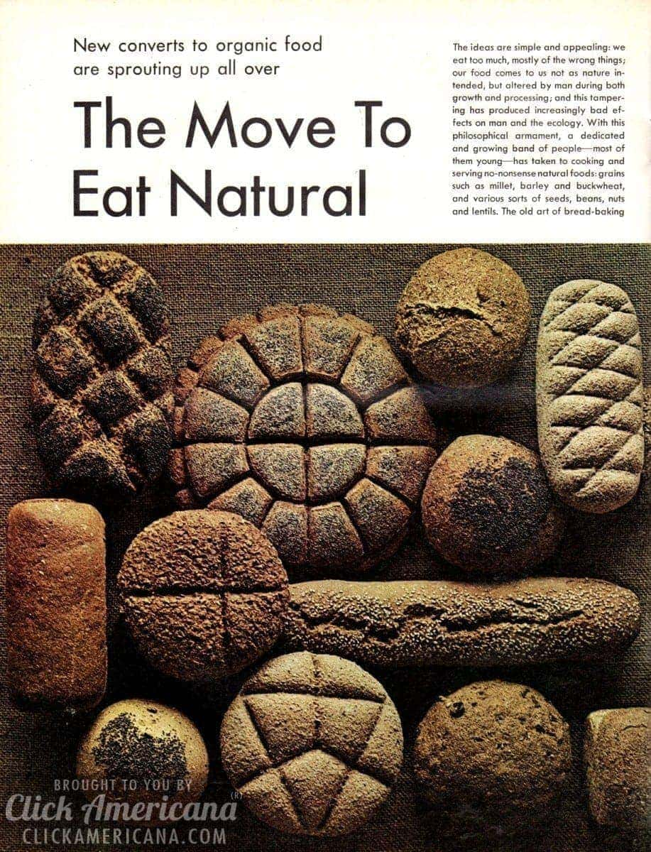 Converts to organic food sprouting up all over (1970)