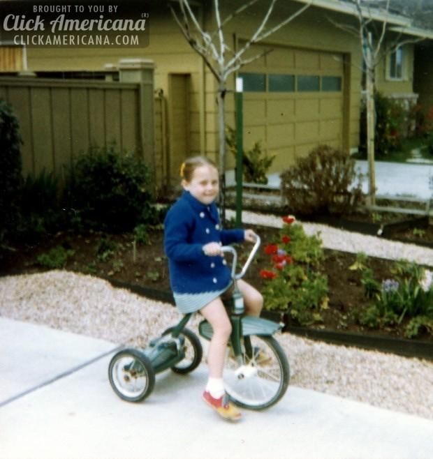 nancy-on-tricycle-vintage-c1973