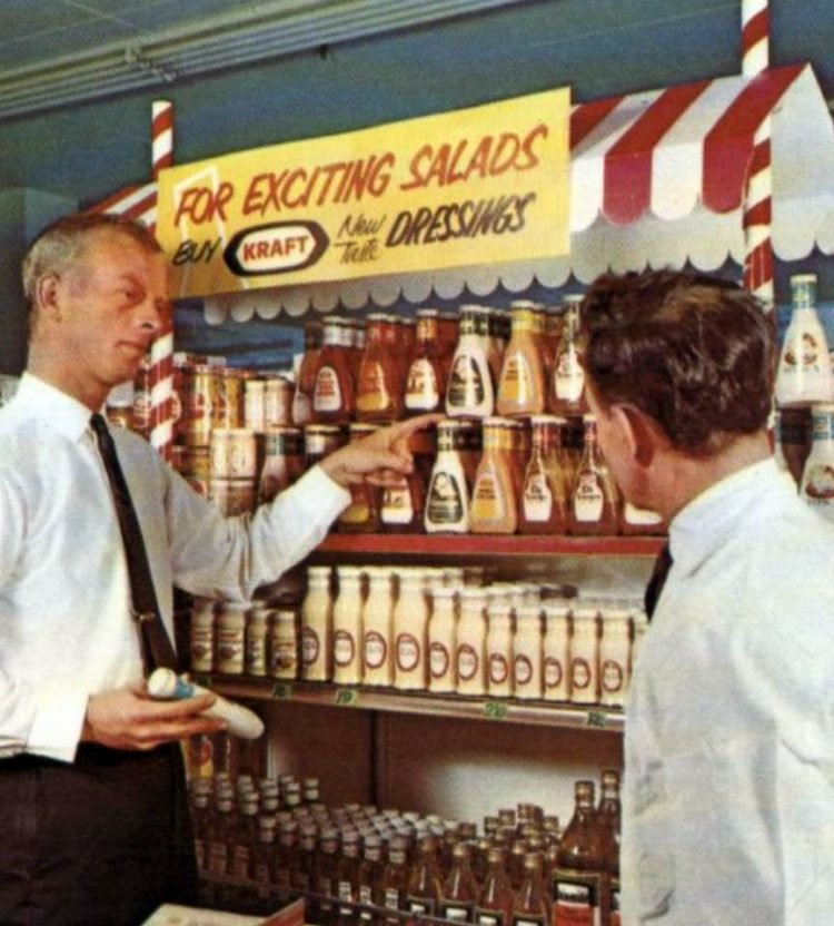 nationaldairy vintage grocery store - 1966 17