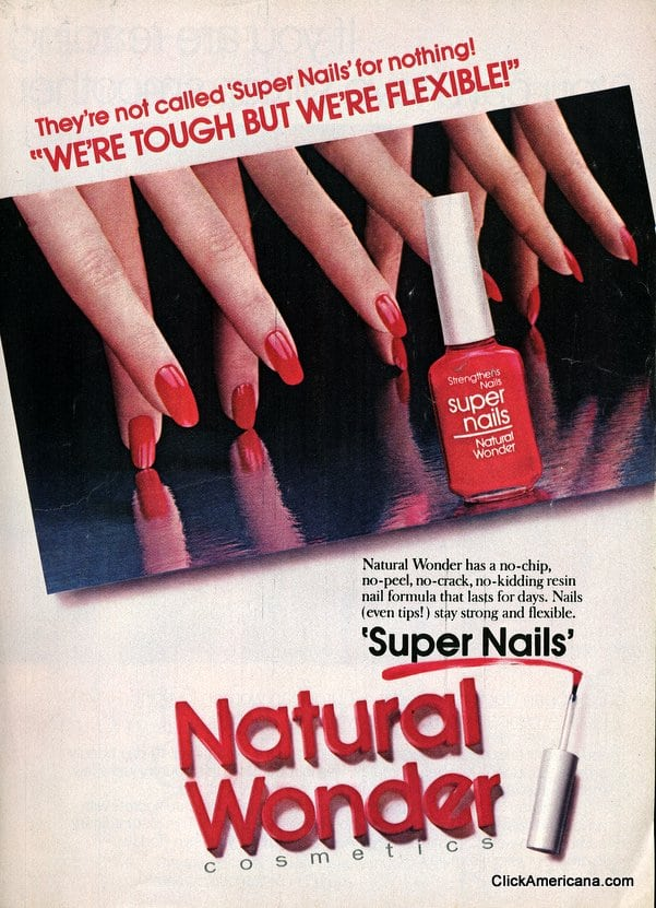 Natural Wonder Super Nails nail polish