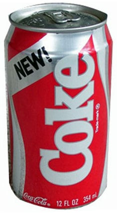 Coca Cola We Wanted The Real Thing 1985 Click Americana