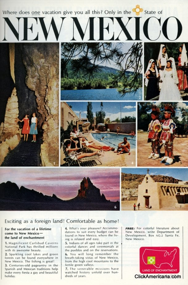 New Mexico: As exciting as a foreign land! (1965)