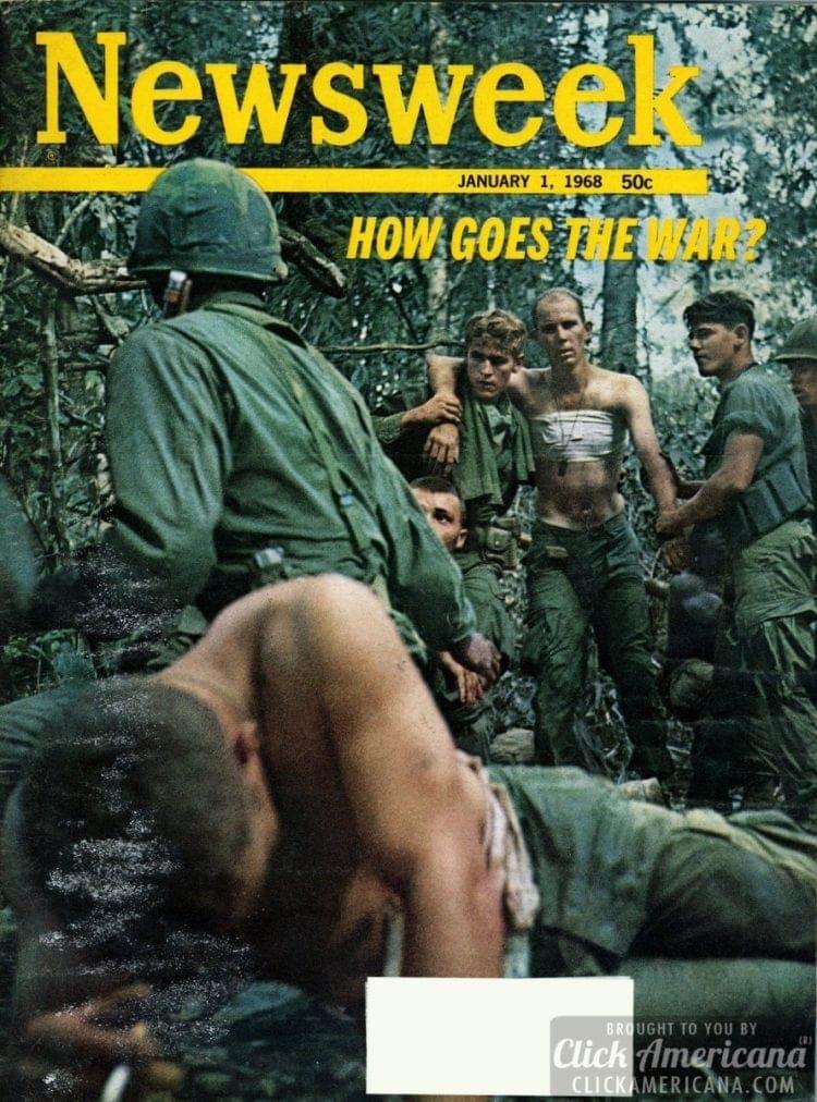 How goes the Vietnam war? Newsweek, 01-01-1968