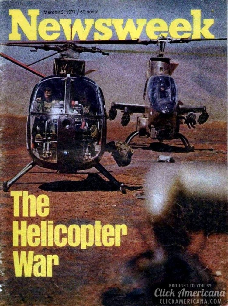 The helicopter war Newsweek, 03-15-1971