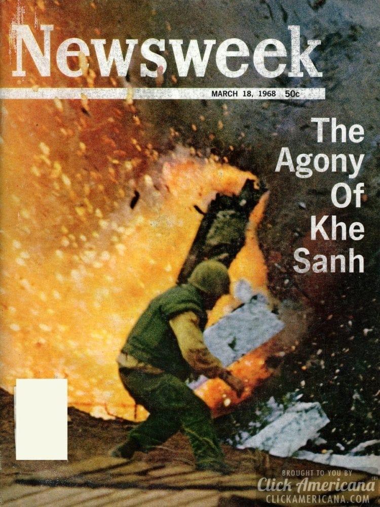 The agony of Khe Sanh Newsweek, 03-18-1968
