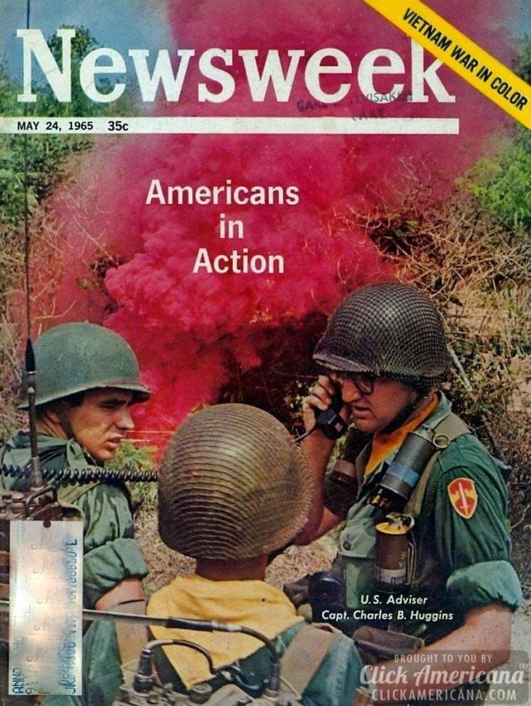 Americans in action/Vietnam War in color