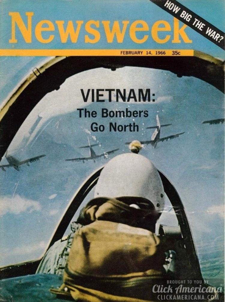 Vietnam: The bombers go north Newsweek, 02-14-1966