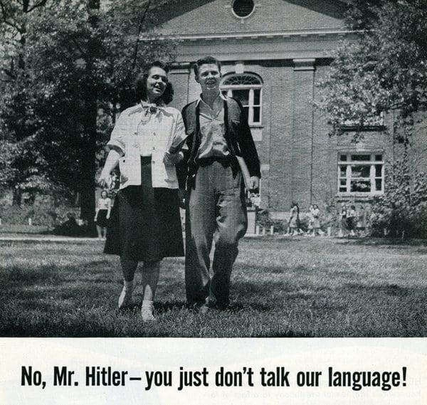 No, Mr Hitler!  (1941)