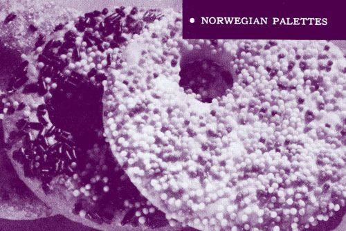 Norwegian palettes Christmas cookies (1959)
