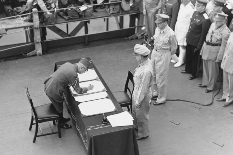 nstrument of Surrender on behalf of Japanese Imperial General Headquarters 1945