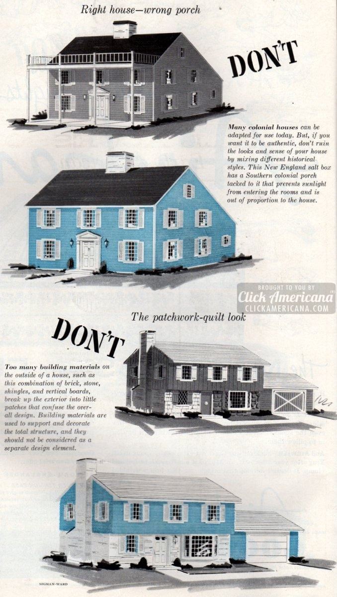Remodel your house, but don\'t spoil the looks (1959) - Click Americana