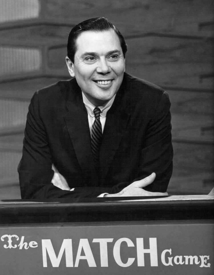 Early Match Game show - Gene Rayburn