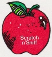 old-scratch-n-sniff-sticker-red-apple