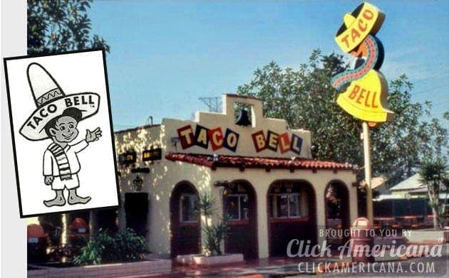 Taco Bell chain has 55 drive-ins with $8 million in sales (1966)