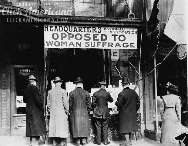 Opinion: Why women do not wish the suffrage (1903)