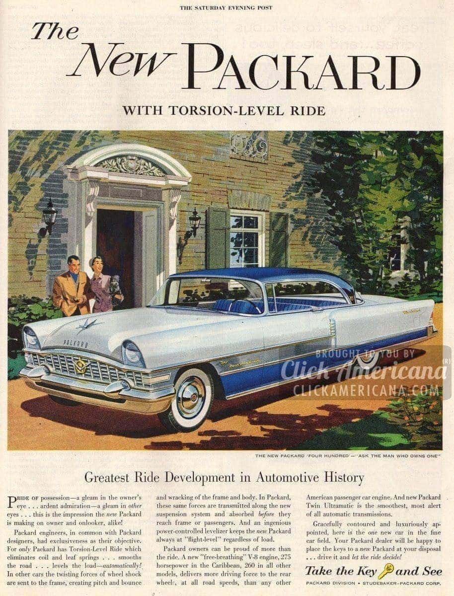 The New Packard with Torsion-Level Ride