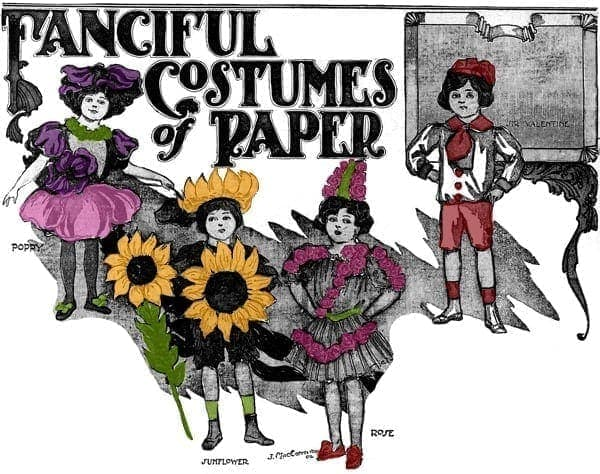 Fanciful costumes of paper (1906)
