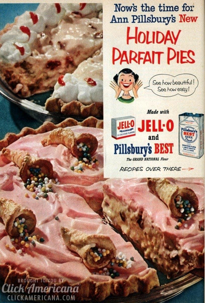 Mince Parfait Pie & Date Nut Parfait Pie (1952)