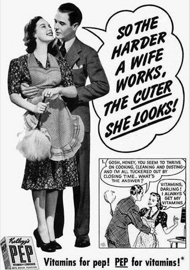 Pep vitamin vintage ad