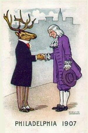 Etiquette for introducing strangers (1907)