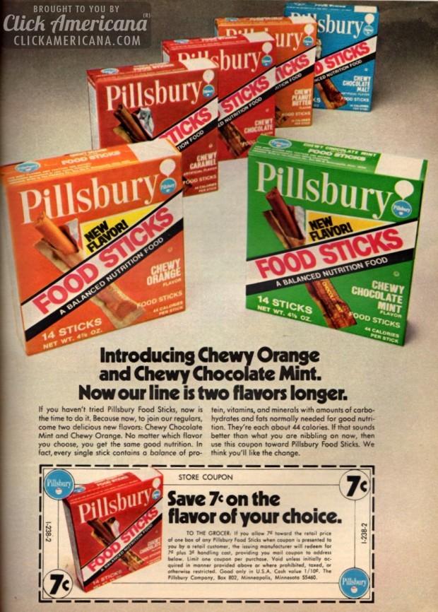 Pillsbury Space Food Sticks Recipe