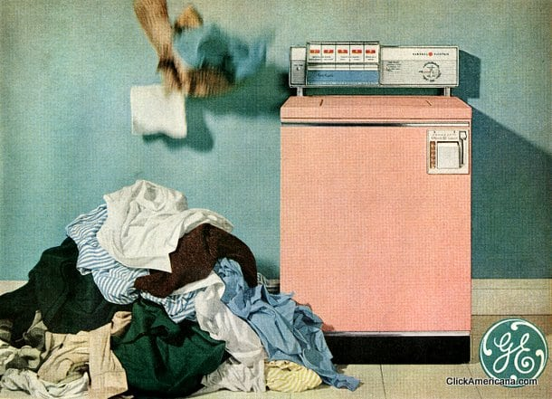 Pink washers & dryers (1955-1960)